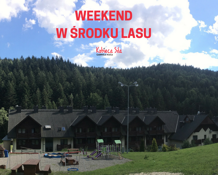 Weekend w środku lasu